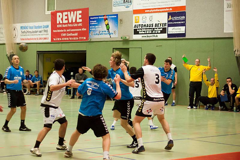 05.01.2013 Landespokal 1.Männer - Schwaaner SV: Handball SG ...